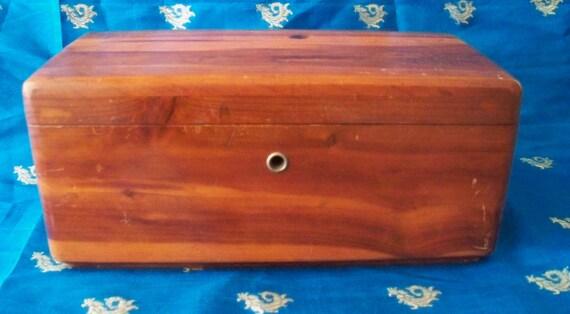 Lane Furniture Jewelry Box : Lane Cedar Chest Box Furniture Co Trinket  Jewelry