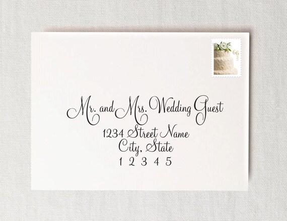 Wedding Invitation Digital Calligraphy Formatting To Print