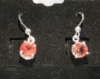 Oregon Sunstone Earrings Red #305