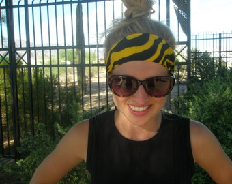 The Gold and Black Zebra