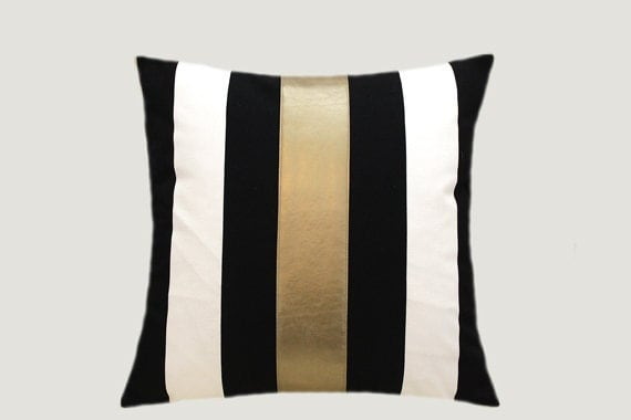 Decorative Pillows Cotton Black White Throw Pillow Case With