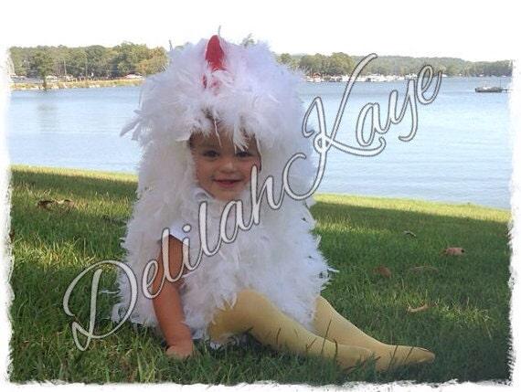 Chicken Costume 18 - 24 Months Toddler Halloween Costume Fluffy Chick