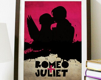 Romeo and Juliet Vintage Movie Poster