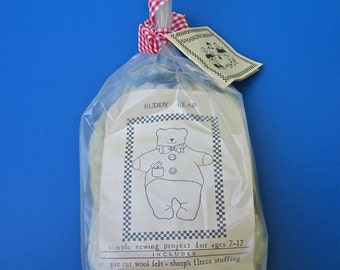 "Child's Sewing Kit, ""Buddy Bear"""