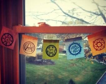 Mini Prayer Flags