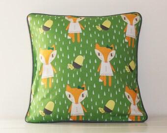 Fox cushion pillow cover 30cm