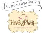 Custom Made Logo Design BIG SALE - Unique Branding for Small Business - Photographer logo and Watermark - Boutique Logo