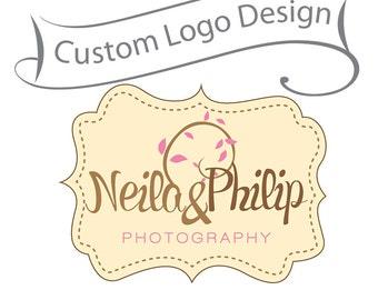 Custom Made Logo Design BIG SALE - Unique Branding for Small Business - Photographer logo and Watermark - Boutique Logo - Custom Logo design