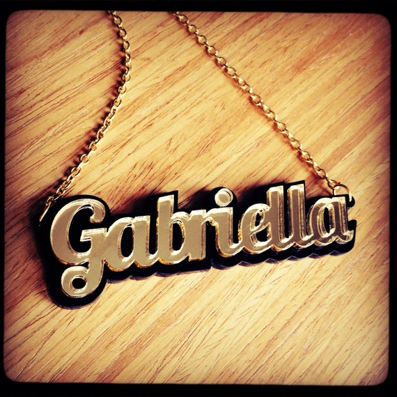 Custom Name Necklace - Personalised - Sugar Jones UK