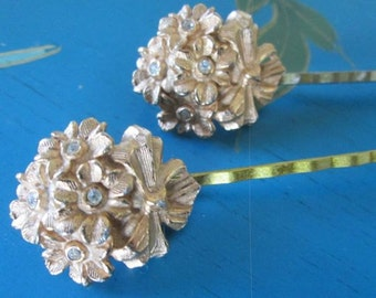 Fashion Hairpins Gold Wedding Hair Accessories Vintage Jewelry