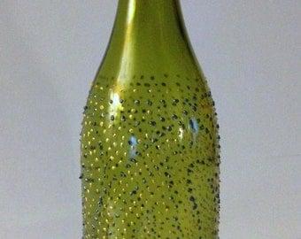 Upcycled Wine Bottle Vase