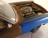 Classicwrecks,Scale Model Car,Rat Rod,Bronze Mopar,Rusted Wreck,1/24 Scale,John Findra.