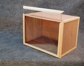 Professional Quality Small Roombox / Display Case-- Assembled, ready to decorate