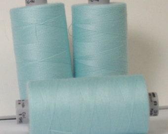 GUTERMANN Mara 100 Polyester Thread ONE (1) Spool 1,094yd Mahara Blue 195