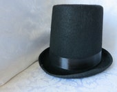 Top Hat, Tophat, Wedding Groom Hat, Costume Hat, Party Hat, Base Hat, Day of Dead Party Hat