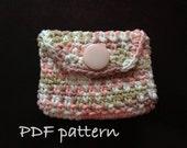 INSTANT DOWNLOAD Crochet Woven Stitch Wallet - PDF 10