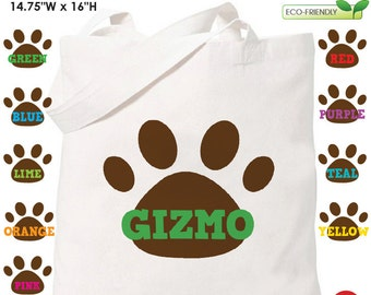 Dog Tote Bag - Personalized Dog Bag