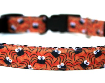 "Halloween Dog Collar 5/8"" Small Dog Halloween Collar"