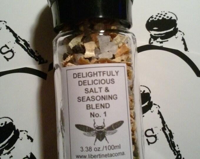Grinder Sea Salt, Herb and Spice Blends