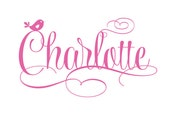 Personalized Name Fancy Cursive Script Vinyl Wall Decal