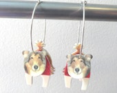 Items Similar To Texas Aggie Miss Reveille Earrings With