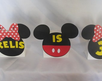 Minnie Mouse Party Balloon Centerpiece