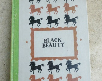 Black Beauty vintage book