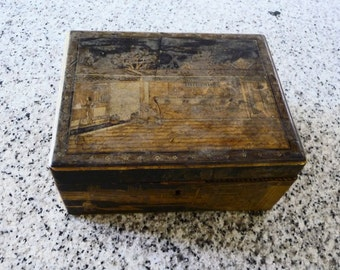 Antique Chinese Tea Caddy on Etsy