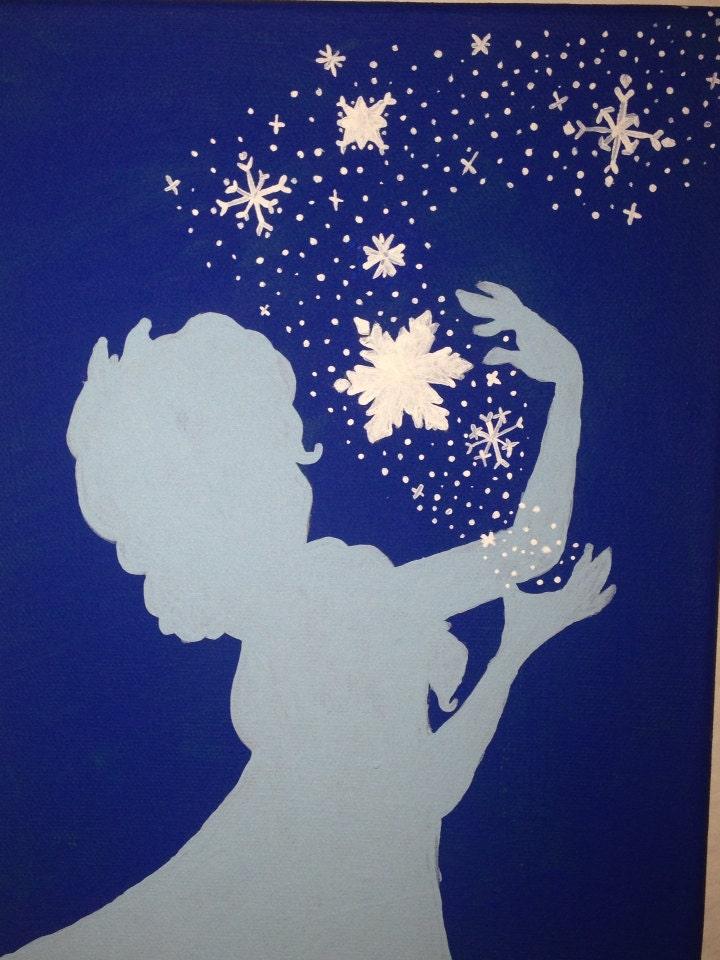 Frozen Silhouette Printables Elsa Frozen Silhouette