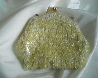 Vintage DeLill Sequin and Bead Bag