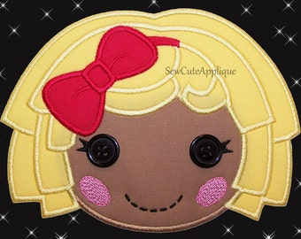 Dot Starlight Lalaloopsy No Sew Applique Patch
