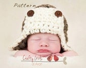 Aviator Crochet Pattern - Newborn to Adult Great photo prop
