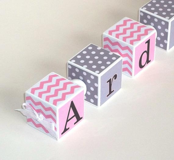 Baby Gift Name Blocks : Personalized baby name blocks shower gift nursery