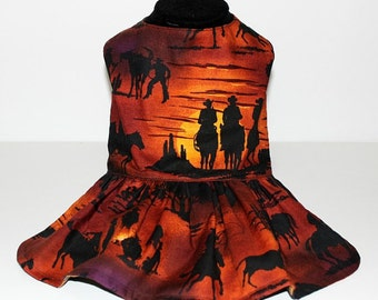 Western Nights and Guitars Reversible Dog / Pet Dress