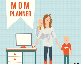 The Busy Mom Planner (printable)