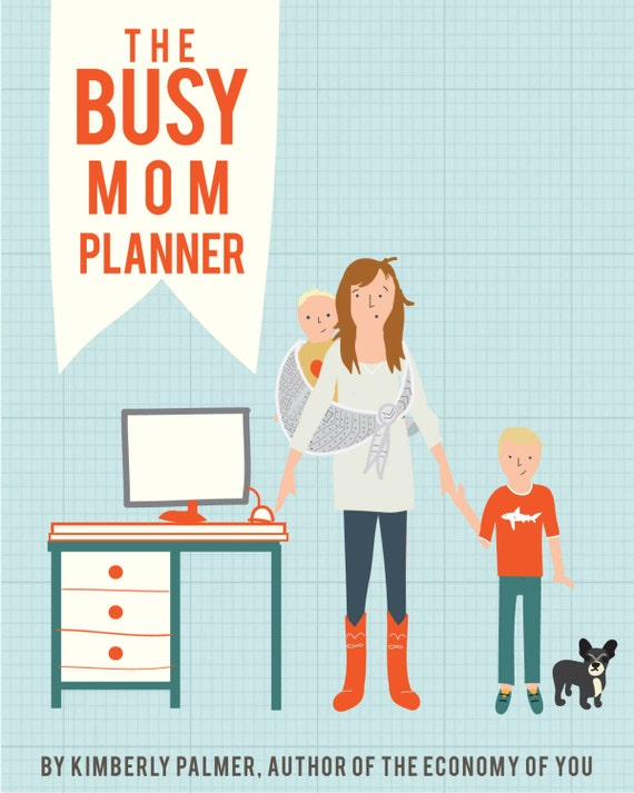 the busy mom planner printable