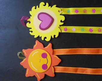 Sunny Hair Bow & Barrette Holder