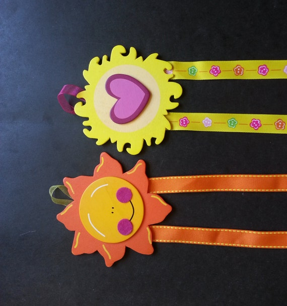 Sunny Hair Bow & Barrette Holder