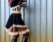 Steampunk Outfit, 3 piece,Skirt, Shrug and  Sleeves
