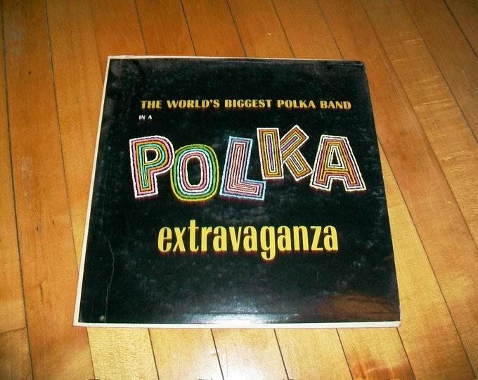 Polkarama A Polka Extravaganza Record Album Vintage 1960s