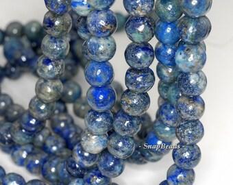 14mm Azura Lapis Lazuli Gemstone Blue Round Loose Beads 15.5 inch Full Strand (90147776-438)
