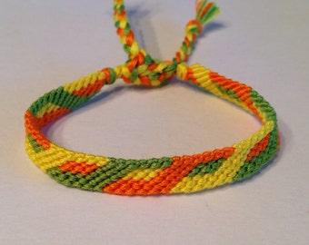 Lemon, Orange & Lime Twist - Friendship Bracelet