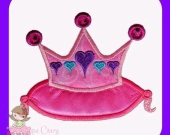 Princess Pillow Applique design