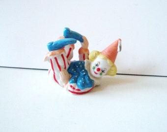 Small Clown,  porcelain  clown ,Happy Clown