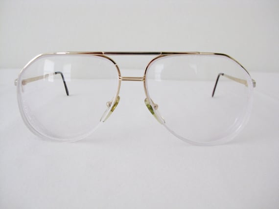 Gold Frame Vintage Glasses : Girard Vintage Gold Frame Eyeglasses Made in France by ...