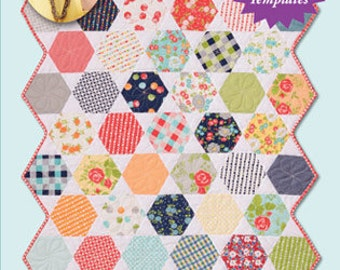 Quilt Pattern Honeycomb Quilt Eleanor Burns Signature Pattern Quilt in a Day Designs