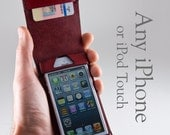 Leather iPhone Wallet for...