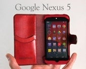 Leather Nexus 5 Wallet / ...
