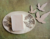 Ceramic Guest Soap Dish, Decorative Photography Prop Romantic Gift Bathroom Shabby Chic Soap Dish Country Item Photos