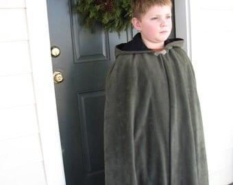 Fleece Cloak size 10/12
